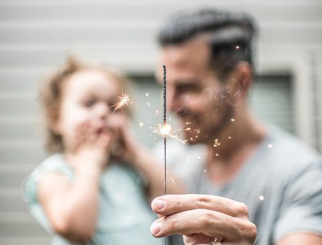 Enfant et papa