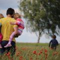 papa et enfants